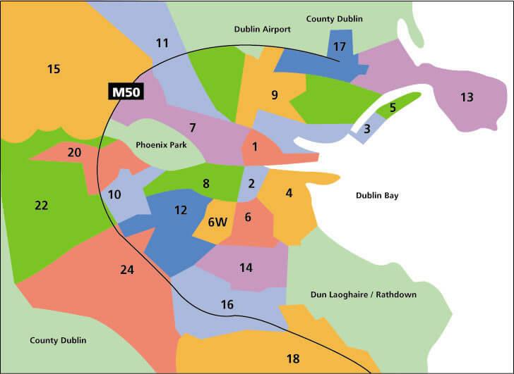 dublin haritası