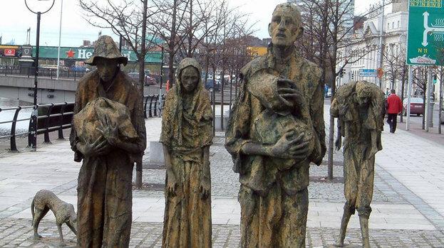 The Memorial Famine Stone